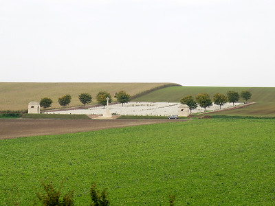 Ovillers Cemetery.