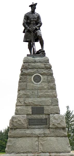 51st Highland Division Memorial, Newfoundland Park.