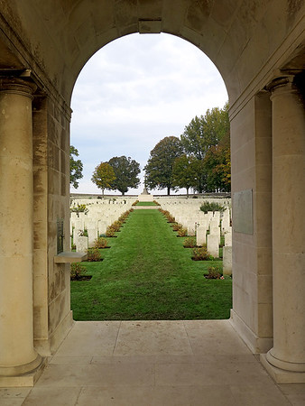 Entrance to Serre Road No.2 Cemetery.