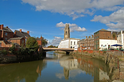 The River Witham at Boston