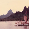 Cook's Bay, Moorea (1979).