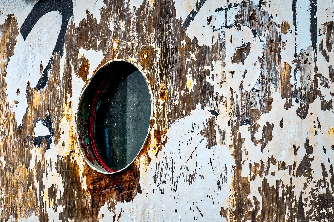 FISHING BOAT PORTHOLE WINDOW