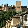 My hotel in Granada was just  below the Alhambra.