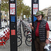 BARCELONA: BIKES ARE PART OF THE PUBLIC TRANSPORTATION NETWORK