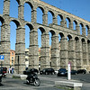 Segovia is home to one of the two best-preserved Roman aqueducts.