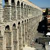 Segovia's Roman Aqueduct.