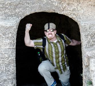 Emerging from the Gladiator's Quarters : Caesarea