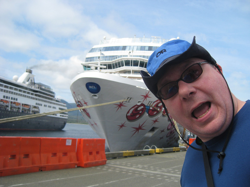 yes, you should be this scared when about to board a cruise ship...