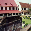 The Dutch occupied the city and built Fort Rotterdam in 1667.
