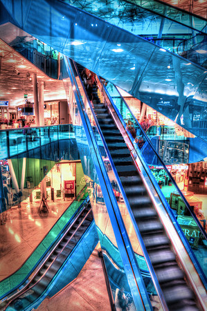 BLUE ESCALATORS