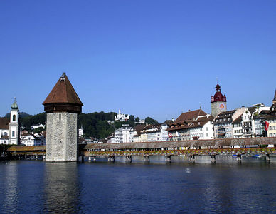 Lucerne  -- Chapel Bridge