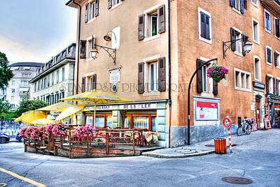 RESTAURANT DE LA CLEF-VEVEY, SWITZERLAND