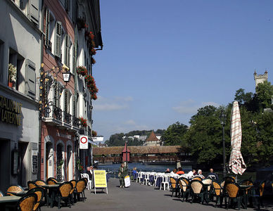 Lucerne -- Outdoor dining
