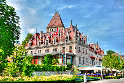HOTEL CHATEAU D'OUCHY, OUCHY, SWITZERLAND
