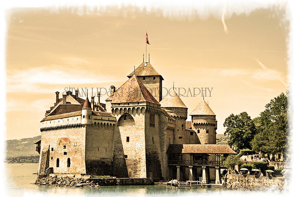 CHATEAU DE CHILLON, VEYTAUX,SWITZERLAND