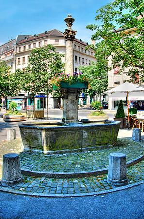 FOUNTAIN-VEVEY, SWITZERLAND