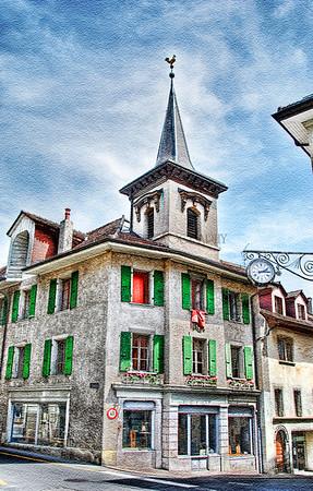 ROUTE DE VEVEY-CULLY, SWITZERLAND