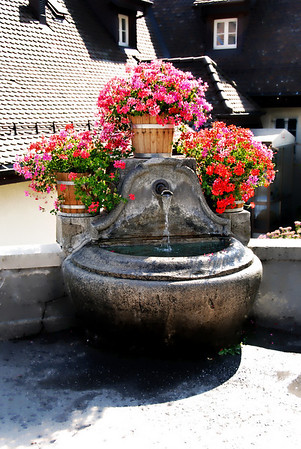 FOUNTAIN-MONT-PELERIN, SWITZERLAND