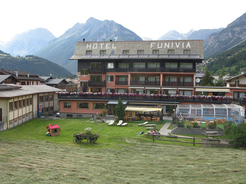 Hotel Funivia - A bike hotel and a rather challenging environment