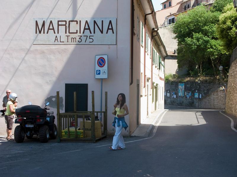 Scenery in Marciana