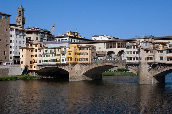Ponte Vecchio (Old Bridge) over the Arno River
