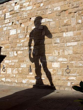 A familiar shadow