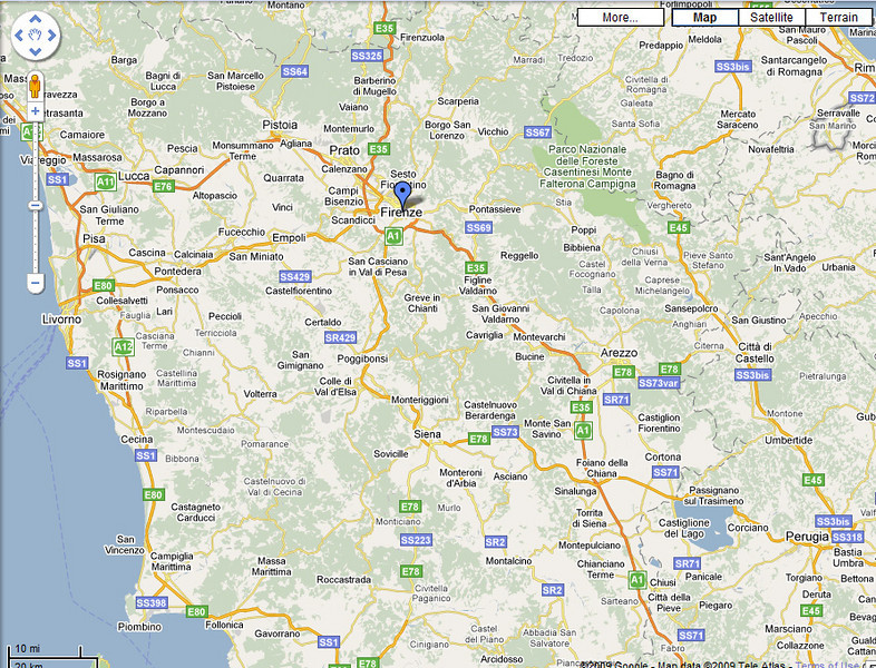 Florence and surrounding area