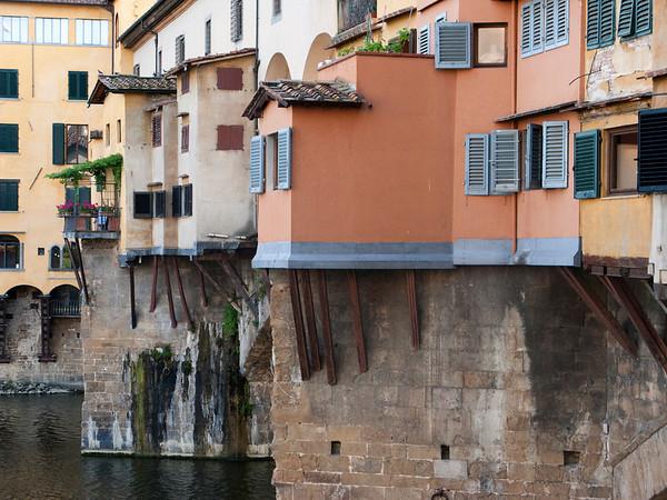 Shops on Ponte Vecchio