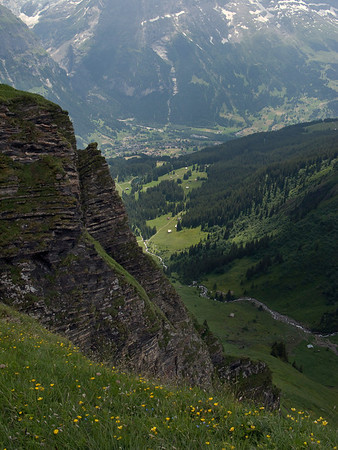 Scenery from First Mountain above Grindelwald