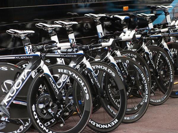 Kuota time trial bike fleet