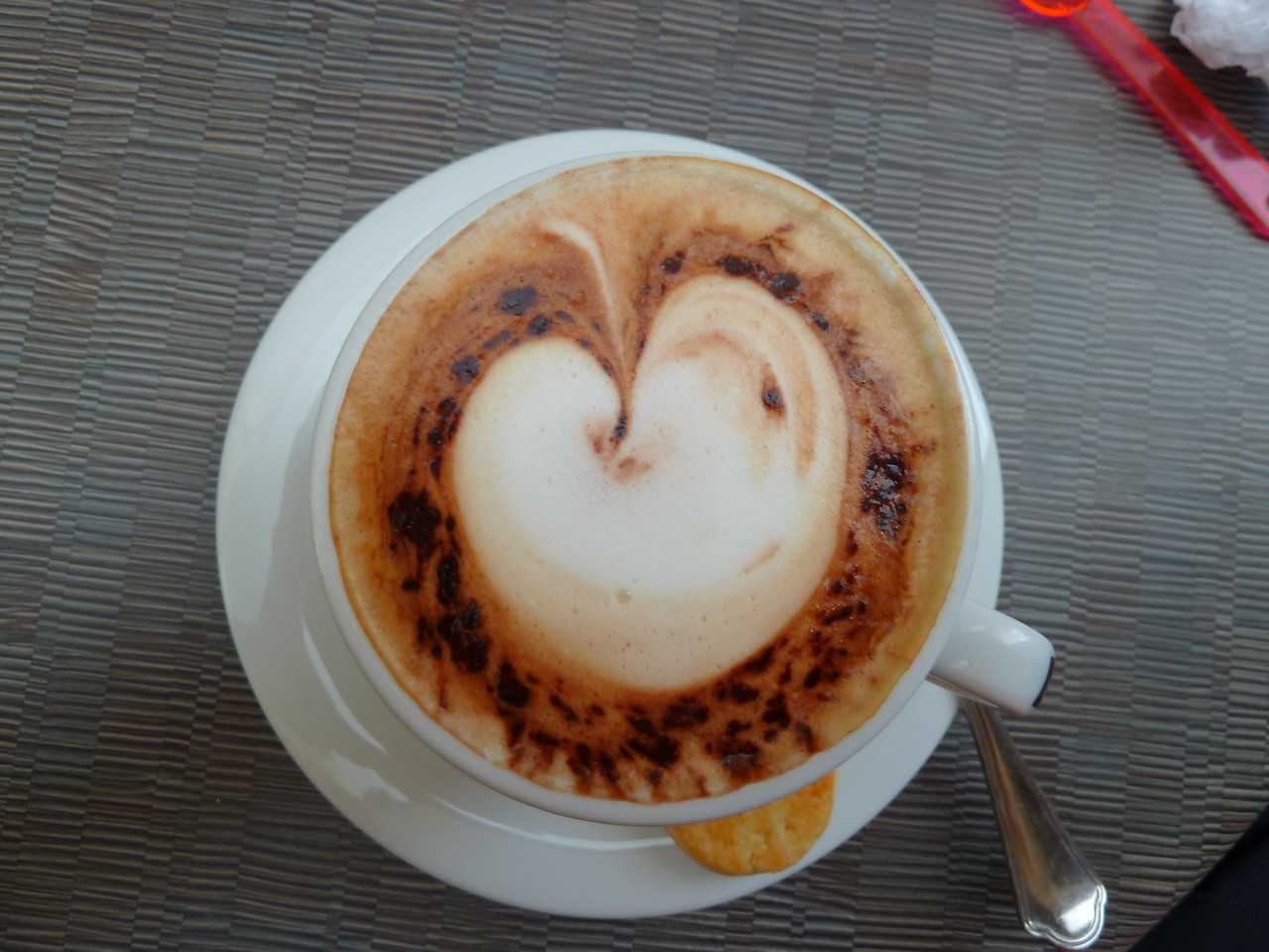 A French cappucino!