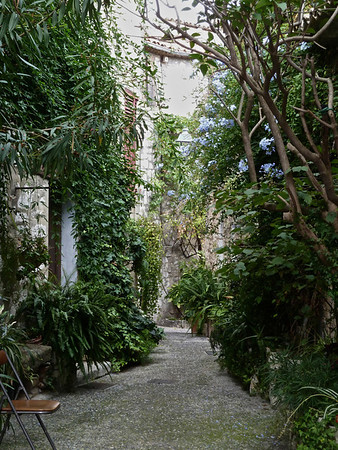 Typical alleys in Saint-Paul-de vence