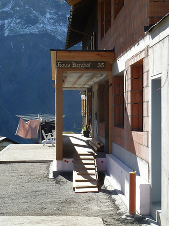 Major changes happening at the Berghof where we got married 10 years ago!