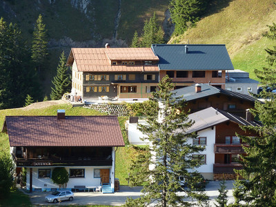 The Berghof with its new addition.