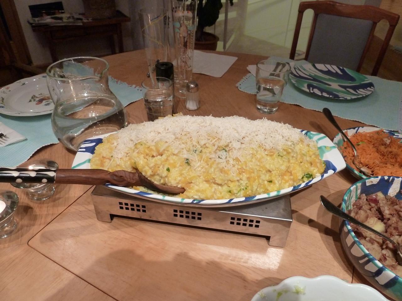 Homemade Käsespätzle!! Yumm!!