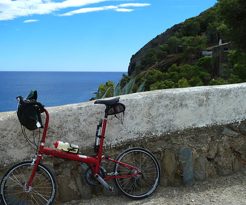 Had a lovely Bike Friday ride around the coast near Cadaques!