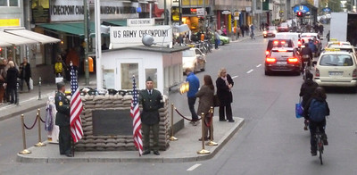 Checkpoint Charlie!