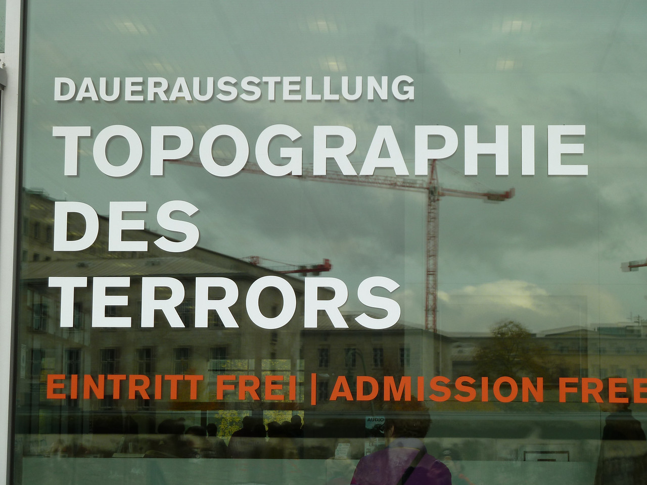 """Topography of Terror"" Museum chronicaling the murdeous ""Third Reich"" at the former Gestapo headquarters."