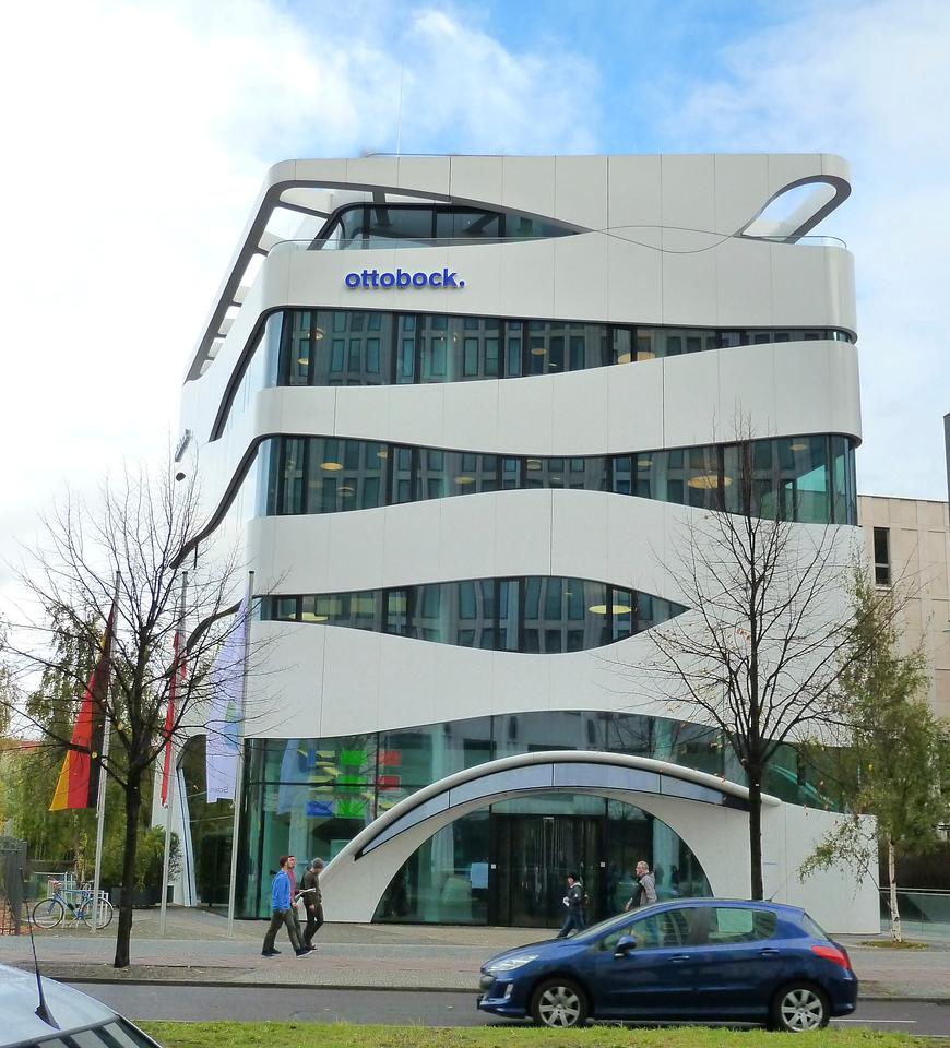Modern architecture in Berlin.