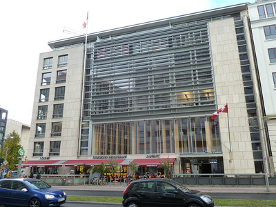 The Canadian Embassy in Berlin.