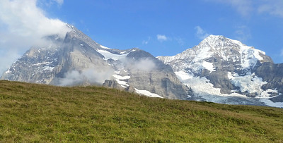 Mönch (left) and Jungfrau.
