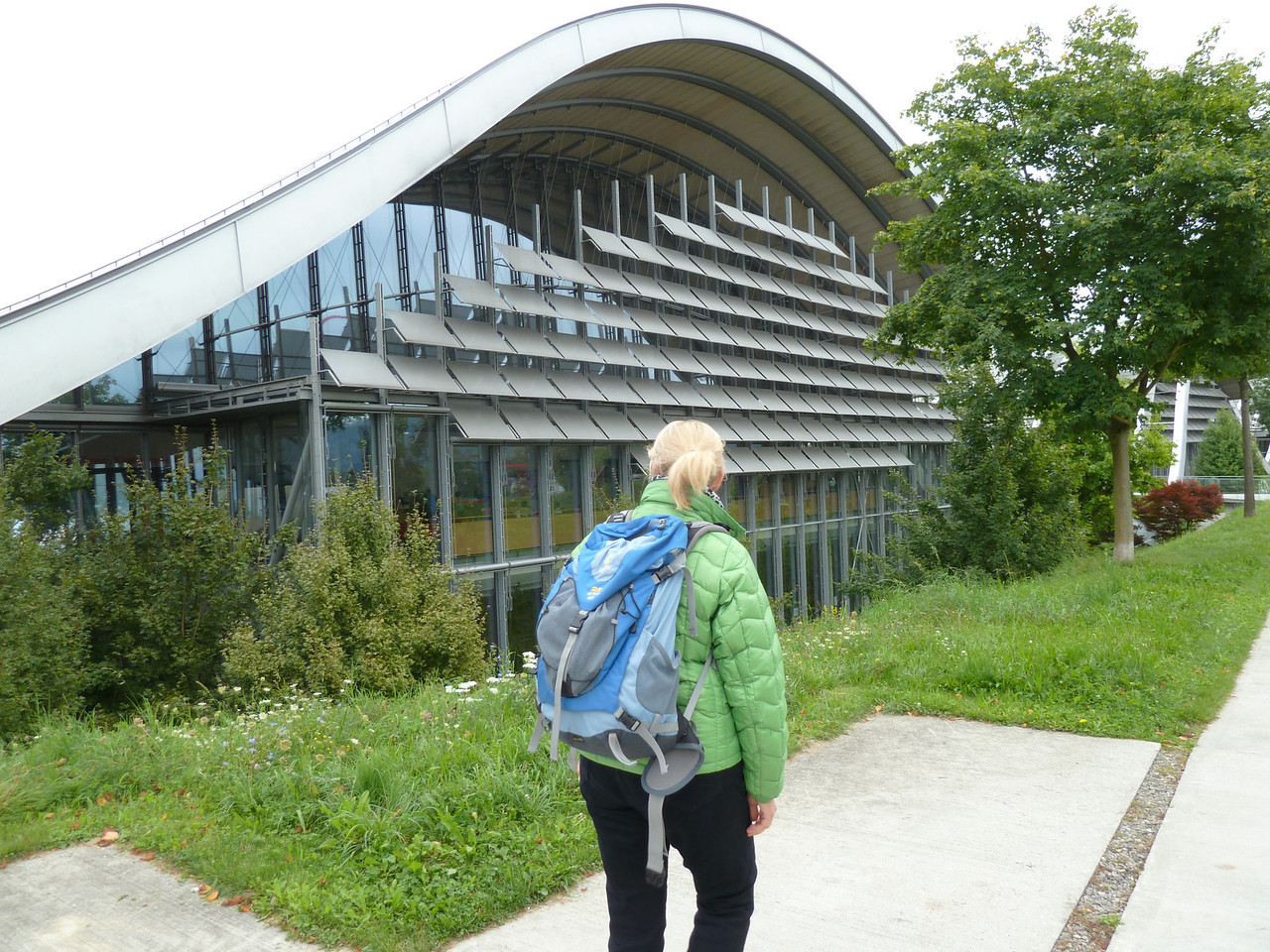 A visit to the Paul Klee Museum in Bern. He was born in Bern.