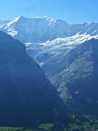 The Grindelwald Glacier!