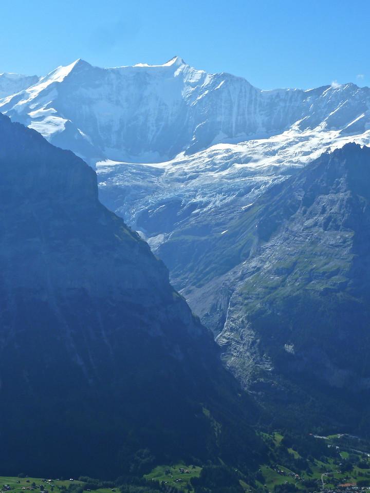 The Grindelwald Glacier!