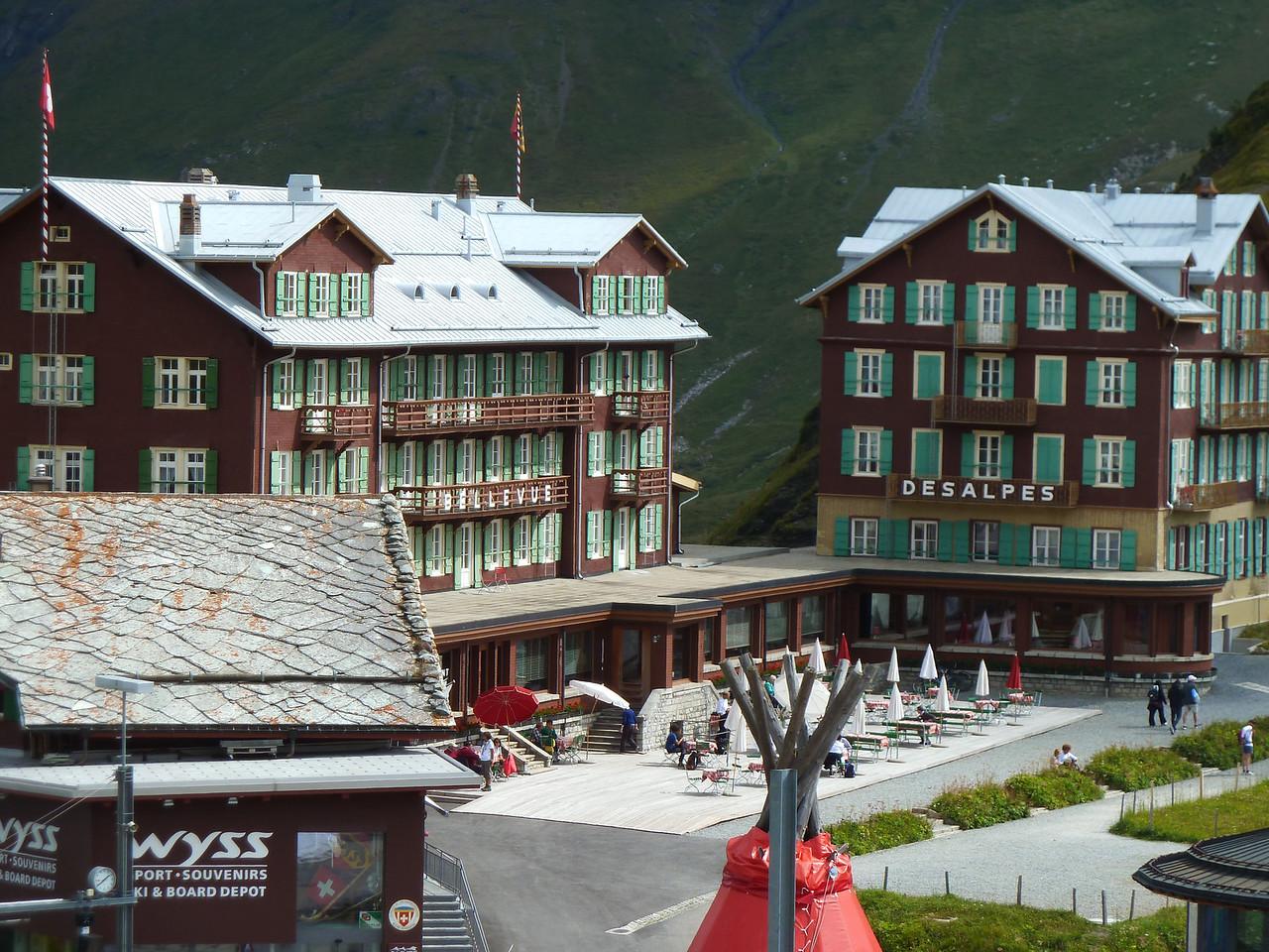Klein Scheidegg Hotel.