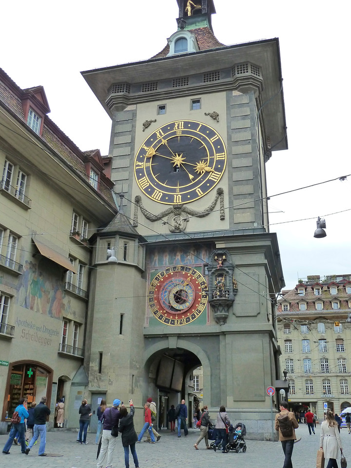 The astronomical clock in Bern.