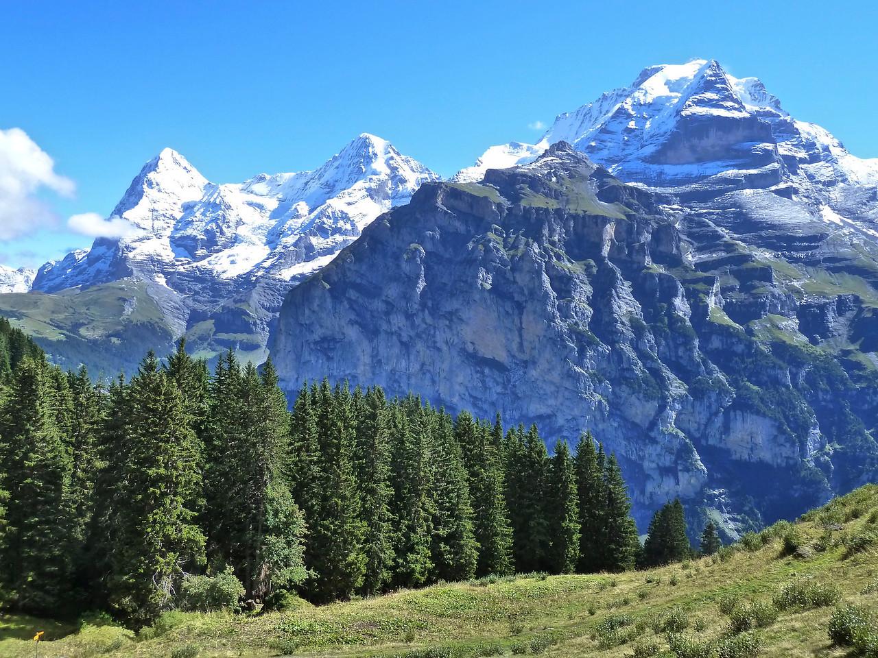 Again, the classic trio: Eiger, Mönch and Jungfrau!
