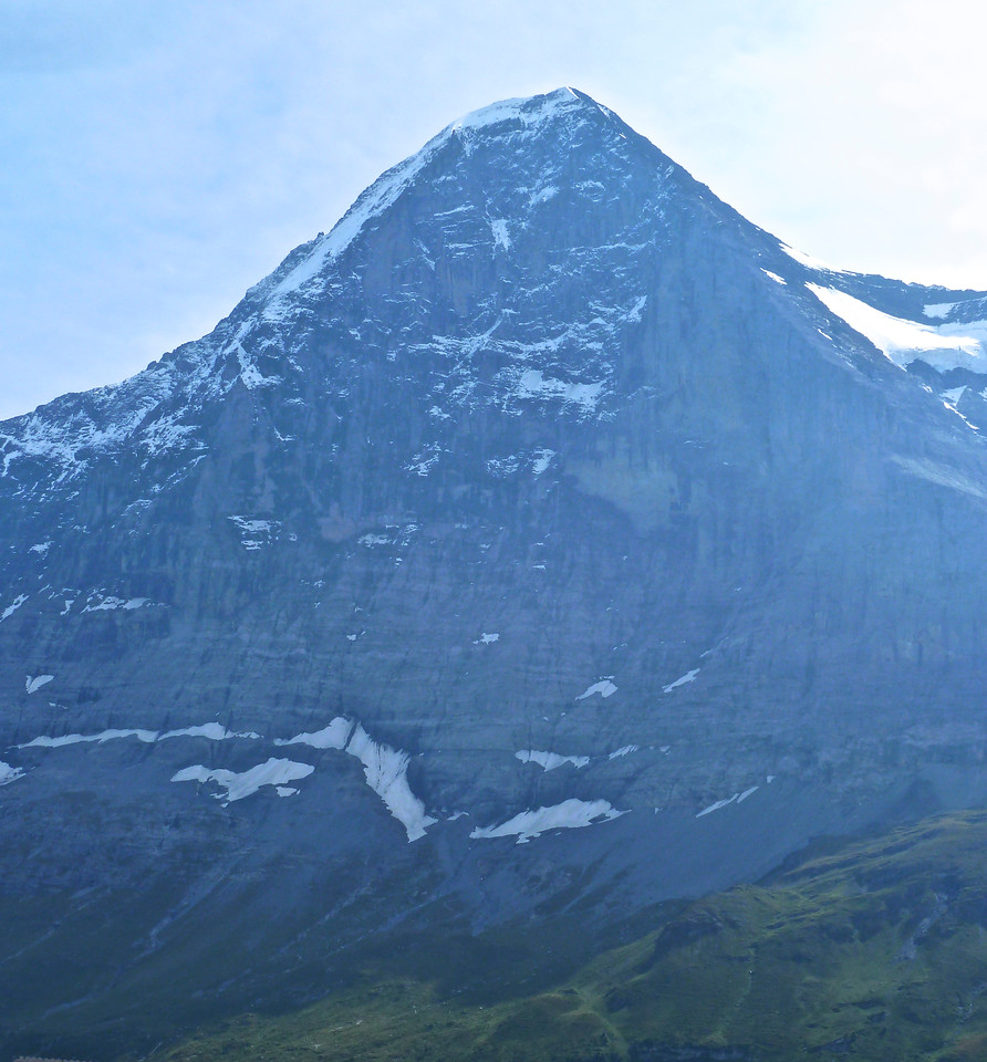 Can't get enough of the Eiger North Face - probably because I just can't believe that folks climb it!! The latest record by a Swiss free climber was in less than 3 hours! Definitely will be an organ donor soon!!??