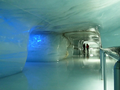 The Ice cave at the Jungfraujoch!