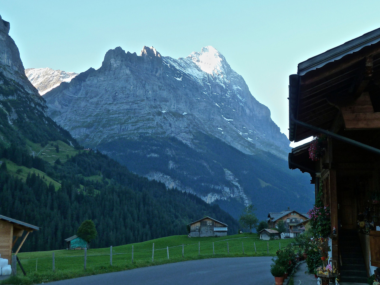 There's the Eiger again.
